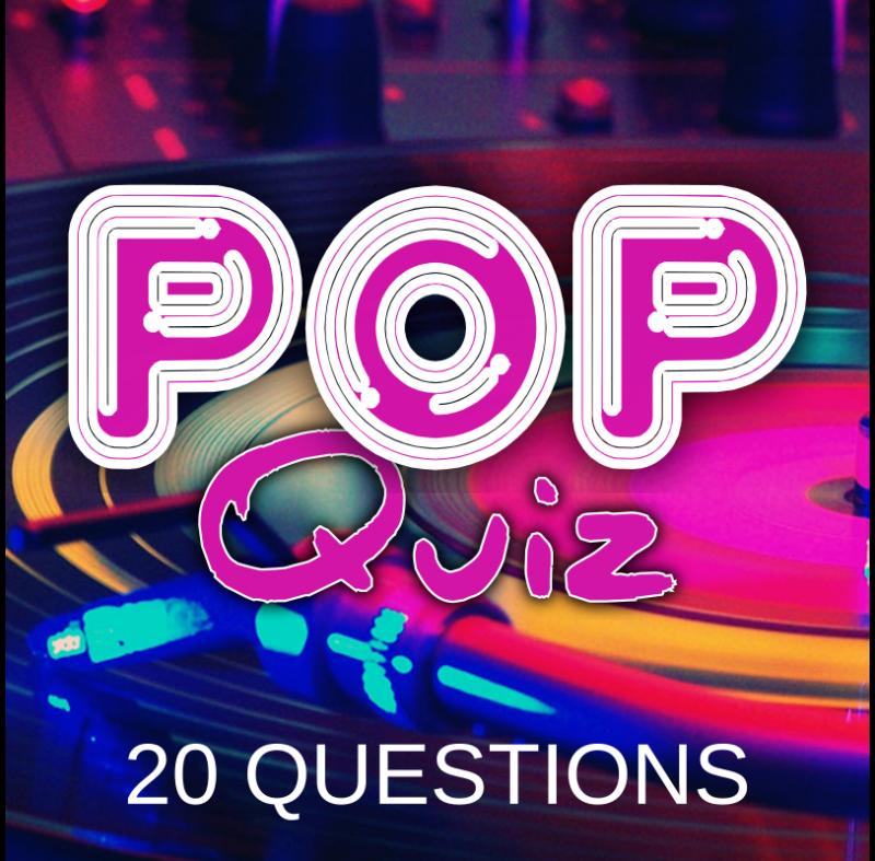 Pop Quiz 20 Questions