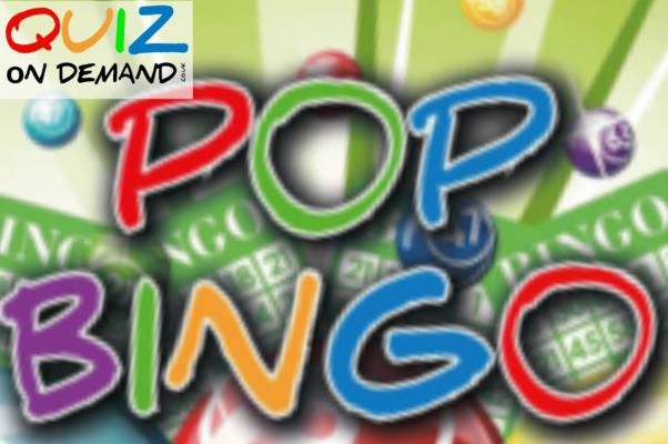 pop bingo quiz