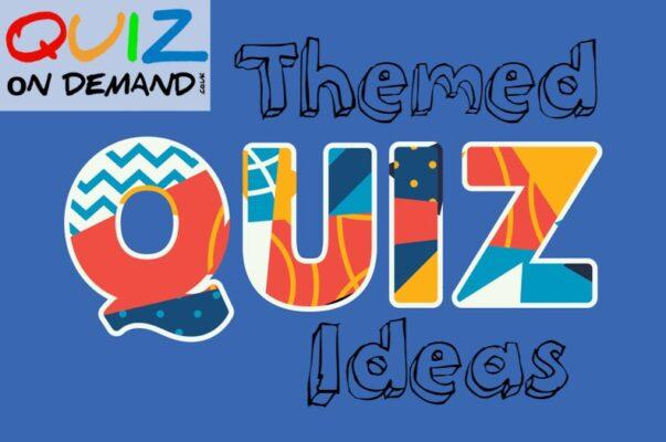 themed quiz ideas